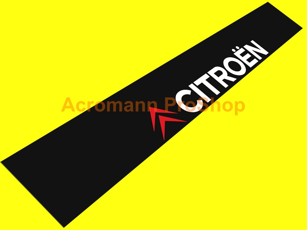 Citroen Windshield Decal (Style#5)